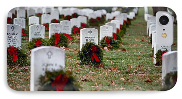 Fallen Heroes Honor And Remember IPhone Case by Eduard Moldoveanu