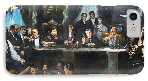 The iPhone 7 Case - Fallen Last Supper Bad Guys by Ylli Haruni
