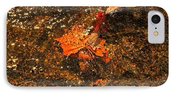 IPhone Case featuring the photograph Fallen Leaf Creek by Candice Trimble
