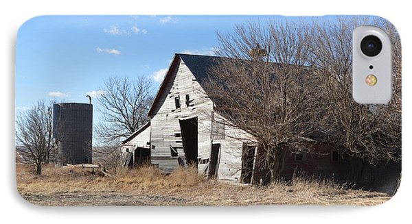 Falling Barn IPhone Case