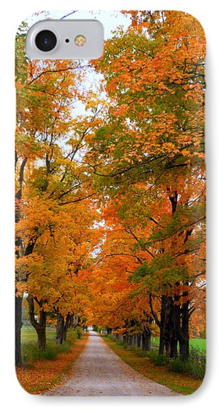Falling For Country Farm Phone Case by Lingfai Leung