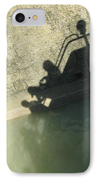 IPhone Case featuring the photograph Falling Into The Water by Menega Sabidussi