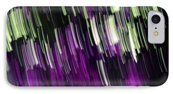 Falling Purple Phone Case by Eiwy Ahlund
