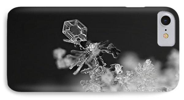 Falling Snowman IPhone Case