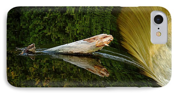 IPhone Case featuring the photograph Falling Tree Reflections by Debbie Oppermann