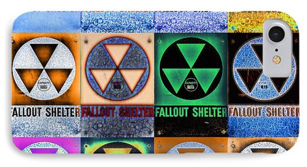 Fallout Shelter Mosaic IPhone Case by Stephen Stookey