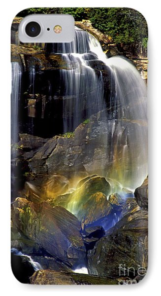 Falls And Rainbow IPhone Case by Paul W Faust -  Impressions of Light