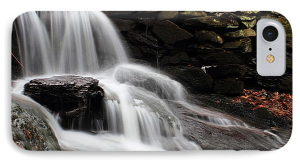 Falls At Melville Phone Case by Andrew Pacheco