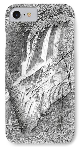 Falls IPhone Case by Carl Genovese