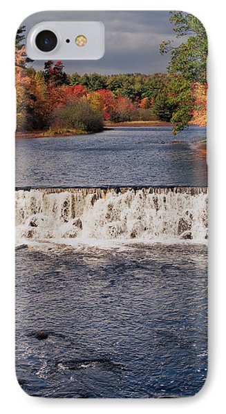 Falls Color IPhone Case by Joann Vitali