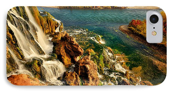 Falls Creek Waterfall IPhone Case by Greg Norrell