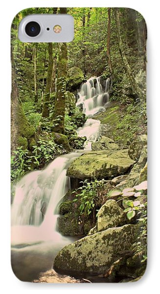 Falls In The Smokies Phone Case by Marty Koch