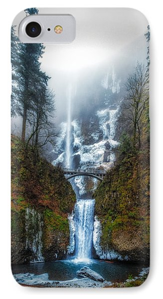 Falls Of Heaven IPhone Case by James Heckt