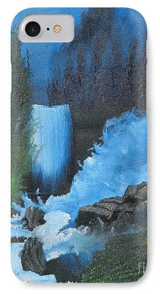 Falls On The Rocks Phone Case by Dave Atkins