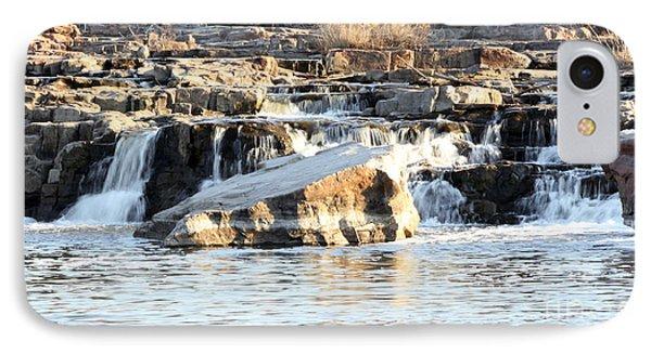 Falls Park Waterfalls Phone Case by Lori Tordsen