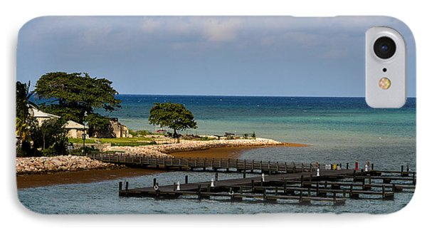 Falmouth Jamaica Port Ocean View IPhone Case