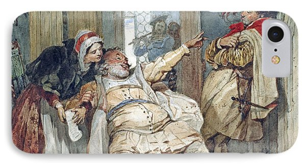 Falstaff Bardolph And Dame Quickly IPhone Case