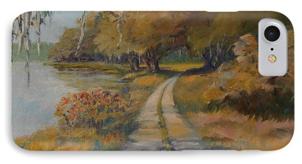 Familiar Road IPhone Case by Dorothy Allston Rogers