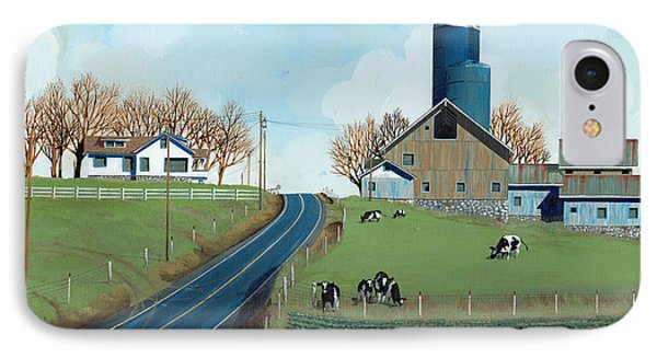 Family Dairy Phone Case by John Wyckoff