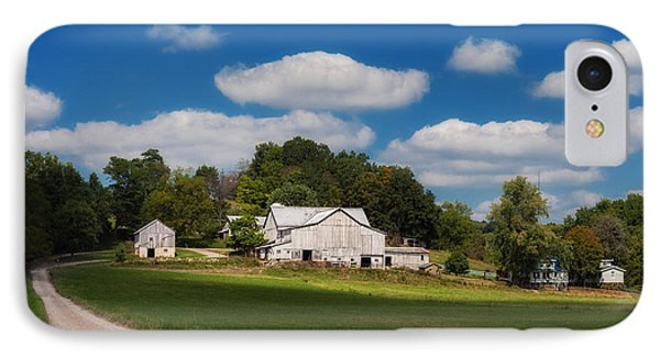 Family Farm IPhone Case by Tom Mc Nemar