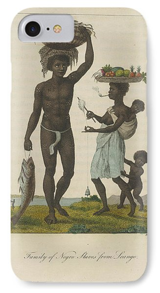 Family Of Negro Slaves IPhone Case by British Library