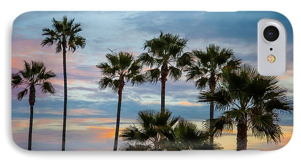 Family Of Palms IPhone Case by April Reppucci