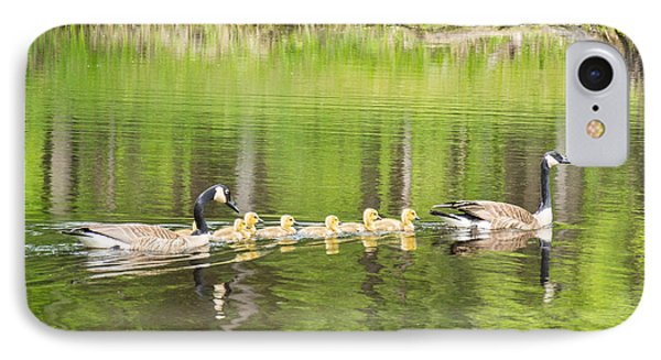 Family Outing Phone Case by Bill Pevlor