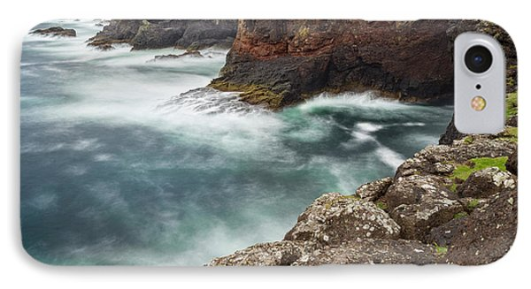 Famous Cliffs And Sea Stacks Of Esha IPhone Case by Martin Zwick