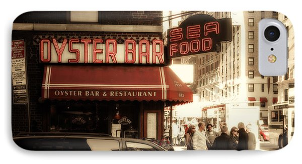 Famous Oyster Bar IPhone Case by Jon Woodhams