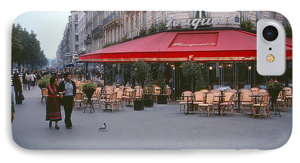 Famous Paris Restaurant - Fouquet's IPhone Case