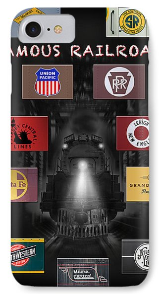 Famous Railroads IPhone Case by Mike McGlothlen
