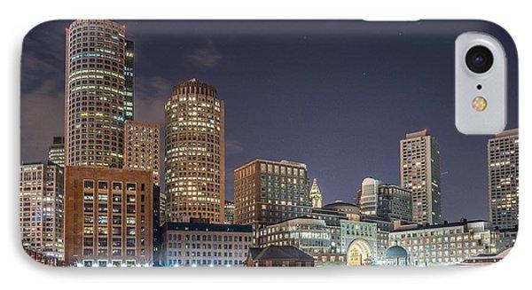 Fan Pier Boston Ma On A Hot July Night IPhone Case by Bryan Xavier