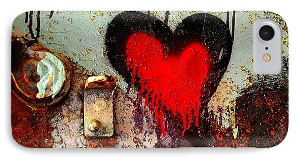 Fanatic Heart Phone Case by Lauren Leigh Hunter Fine Art Photography