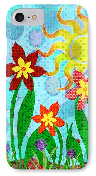 Fanciful Flowers Phone Case by Shawna Rowe