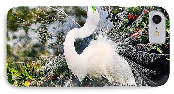 Fancy Bird  IPhone Case by Davids Digits