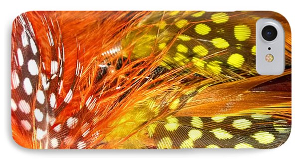Fancy Feathers Phone Case by Catherine Ratliff