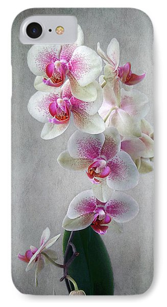 Fancy Orchids IPhone Case by Louise Kumpf