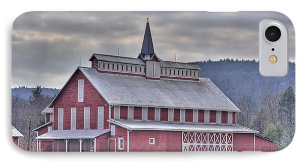 Fancy Red Barn IPhone Case by Shelly Gunderson