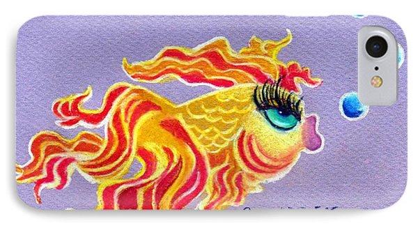 Fancytail Goldfish Phone Case by Genevieve Esson