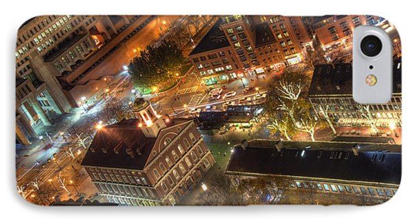 Faneuil Hall From Above IPhone Case