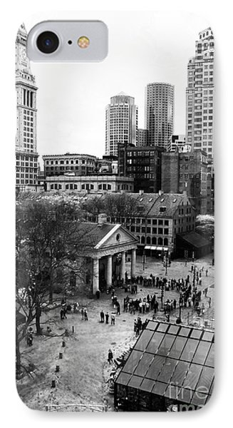 Faneuil Hall Marketplace Phone Case by John Rizzuto