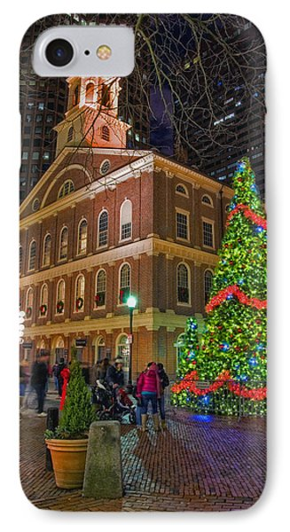 Faneuil Hall Night IPhone Case