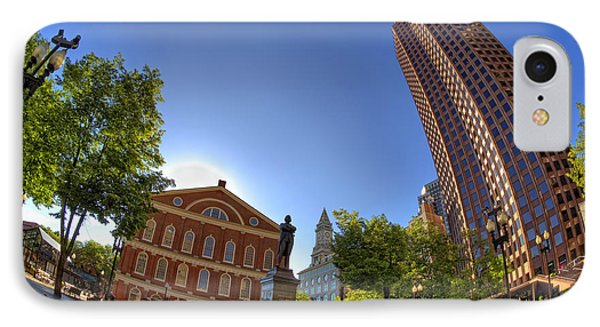 Faneuil Hall Square IPhone Case