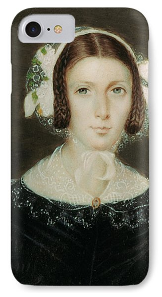 Fanny Brawne (1800-1865) IPhone Case by Granger
