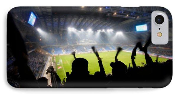 Fans Celebrating Goal Phone Case by Michal Bednarek