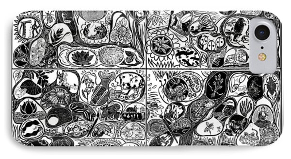 Fantastic Garden 2013 Phone Case by Maria Arango Diener