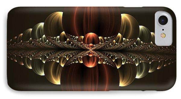 IPhone Case featuring the digital art Fantastic Skyline by Gabiw Art