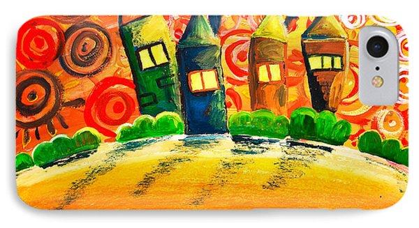 Fantasy Art - The Village Festival Phone Case by Nirdesha Munasinghe