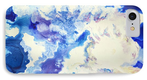 IPhone Case featuring the painting Fantasy Cloud by Joan Hartenstein