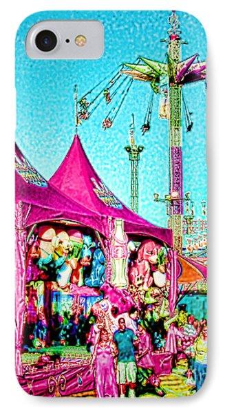IPhone Case featuring the digital art Fantasy Fair by Jennie Breeze